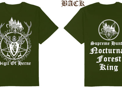 Sigil of Herne - T-Shirt - GREEN main photo