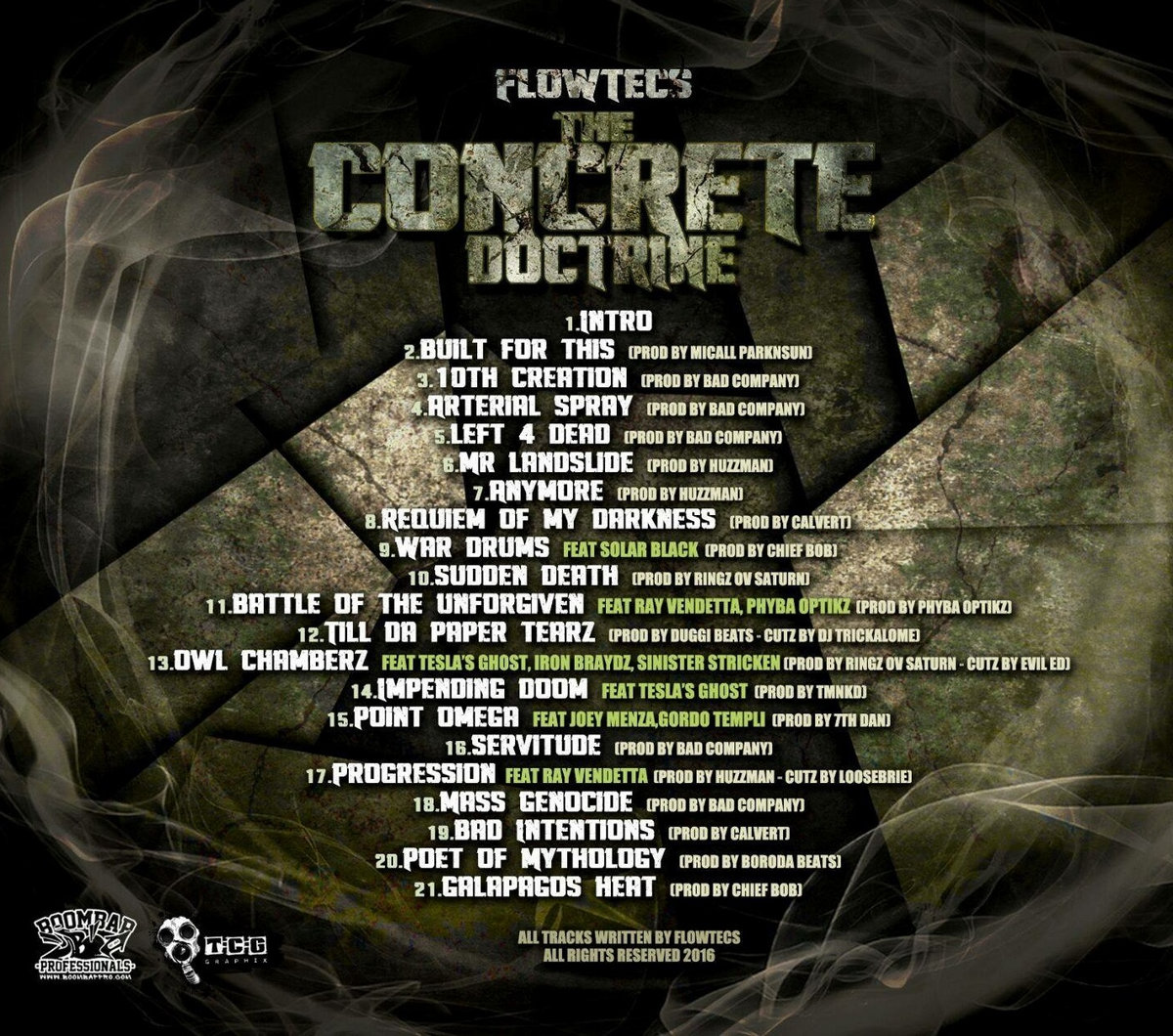 The Concrete Doctrine (BBP51) | Boom Bap Professionals