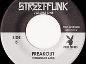 "Modogsta / Throwback Zack - Street-Funk Volume One (7"", Ltd) photo"