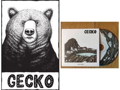 Bear T-Shirt and signed ltd edition CD bundle main photo