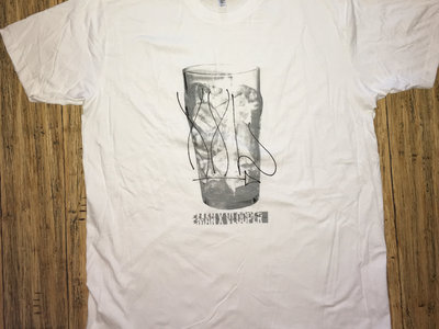 "T-shirt blanc Eman X Vlooper ""XXL"" main photo"
