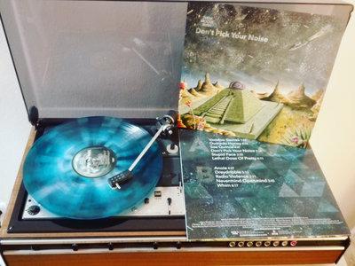 """12"""" Vinyl - Blue Splatter main photo"""