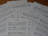 Piano Solo Sheets of Réminiscence photo