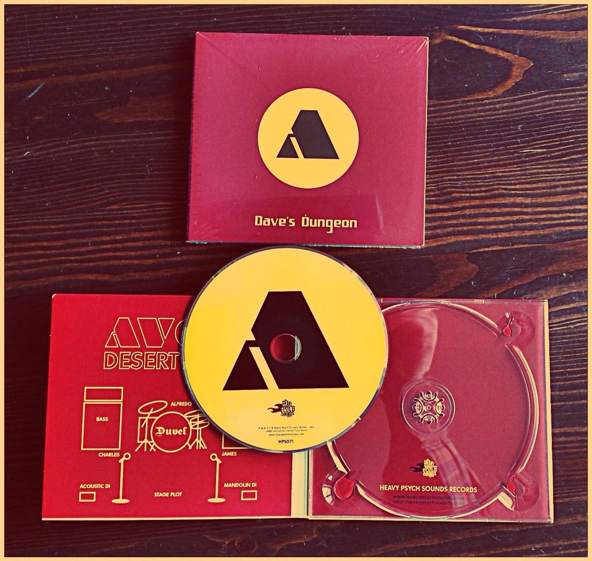 Avon Dave S Dungeon Heavy Psych Sounds Records