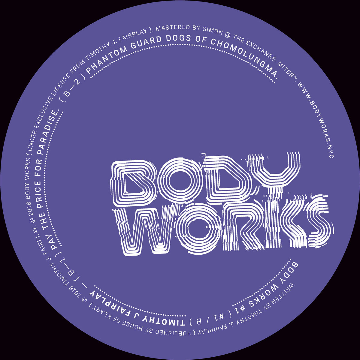 DX MARKS THE SPOT EP | Body Works