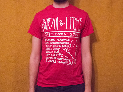 Leche & Borzoi '16 Tour T-Shirt main photo