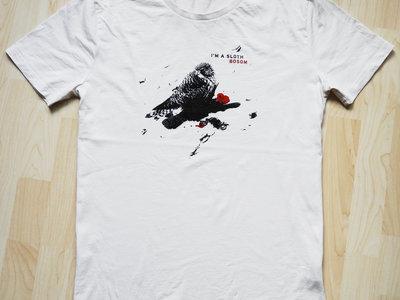 I'M A SLOTH - BOSOM (T-Shirt / white) main photo