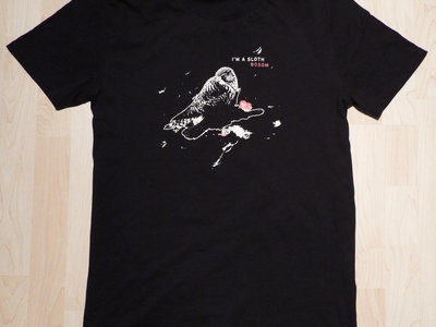 I'M A SLOTH - BOSOM (T-Shirt / black) main photo