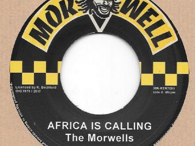 """The Morwells """"AFRICA IS CALLING"""" 7inch main photo"""