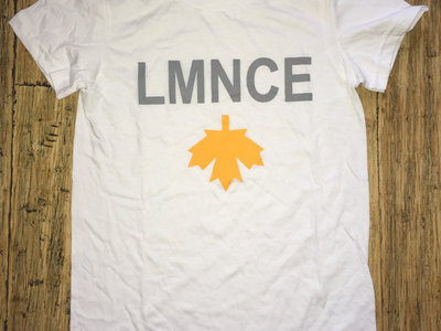 """T-shirt blanc """"LMNCE"""" main photo"""