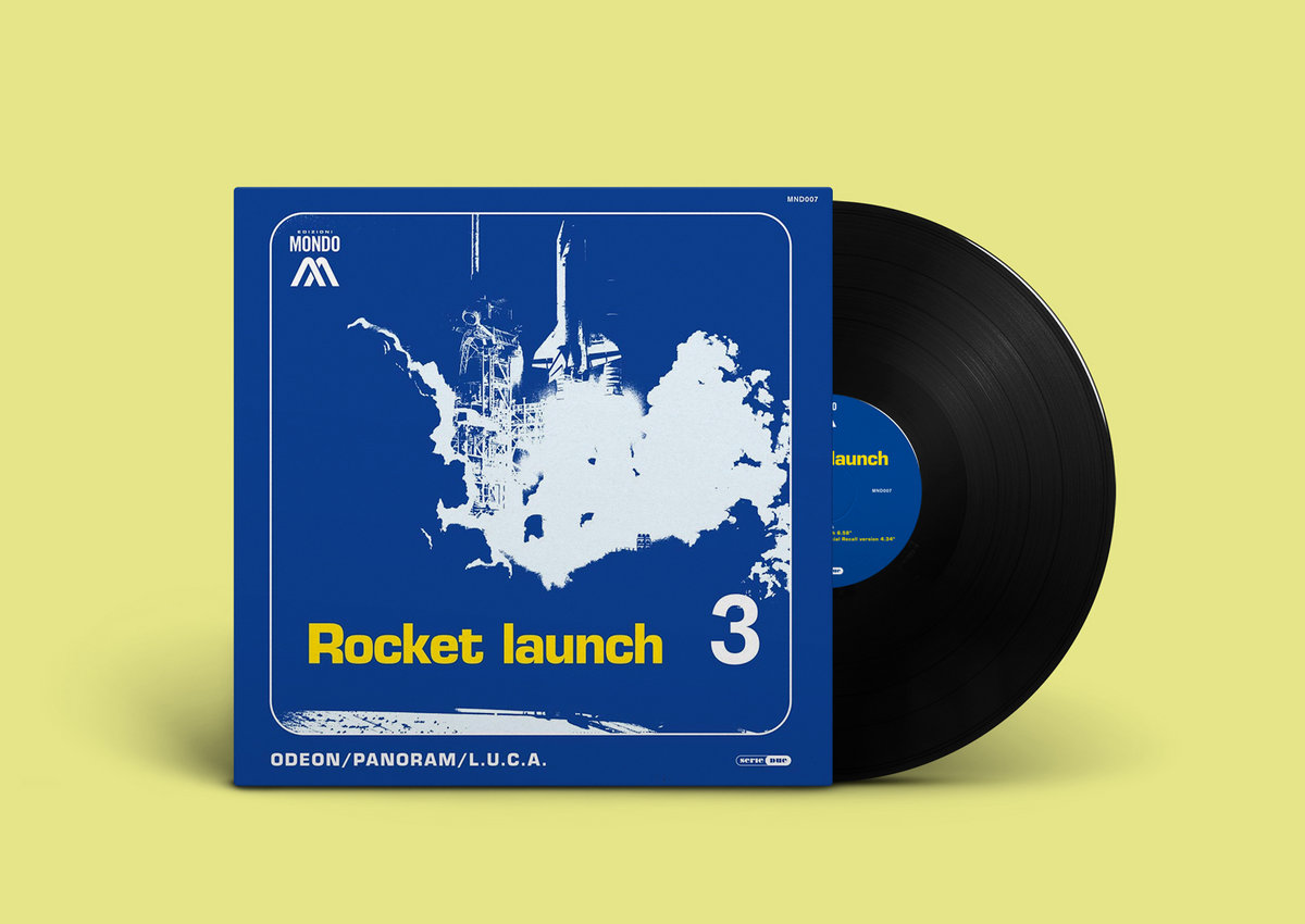 Odeon Rocket Launch 12 Vinyl