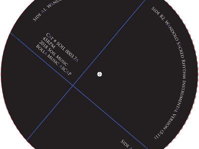 "Bolla - Afrikan Basement feat. Master Haitian Drummer ""Bonga"" - 7 Inch Vinyl Release. main photo"
