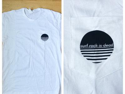 Surf Rock is Dead- Pocket Tee (White) main photo