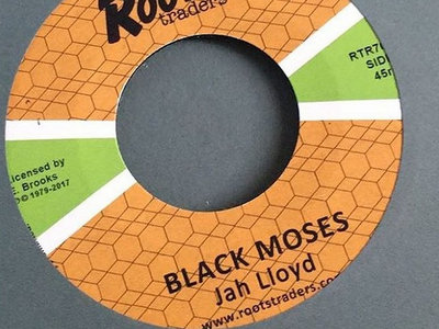 "Jah Lloyd ""BLACK MOSES"" 7 inch main photo"