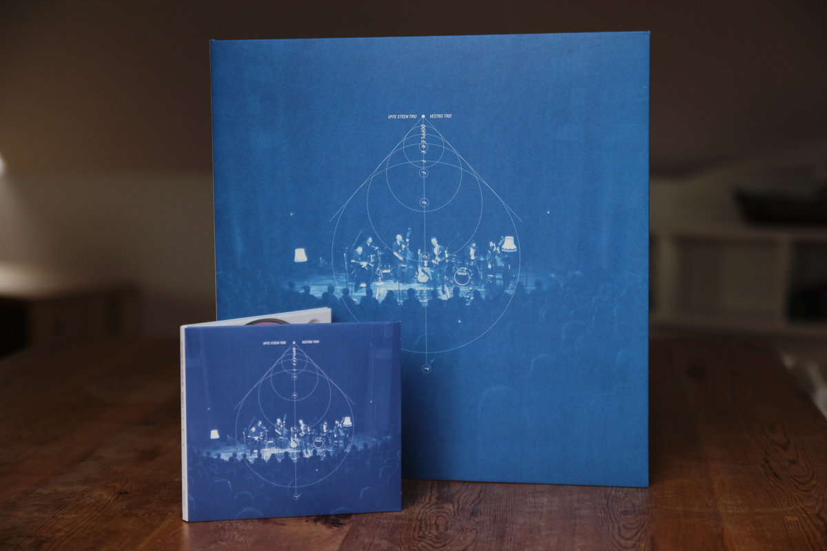 Vestbo trio the front cover is blueprint blue and the album credits are printed as a blueprint on the inside of the gatefold malvernweather Gallery