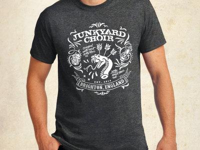 Charcoal 'Snake Rattle & Roll' T-Shirt main photo