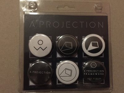 A Projection - Blisterpack - 6 x Button ( Ltd 100 ) main photo