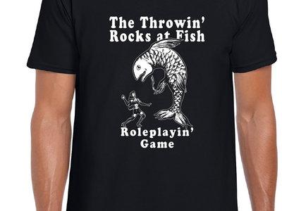 The Throwin' Rocks at Fish Roleplayin' Game Shirt main photo