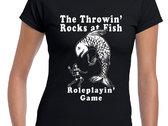 The Throwin' Rocks at Fish Roleplayin' Game Shirt photo