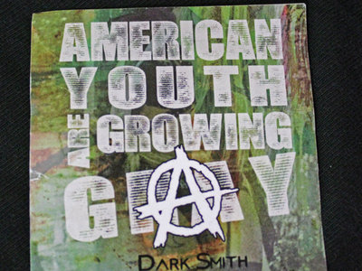 """""""AMERICAN YOUTH ARE GROWING GAY"""" STICKERS main photo"""