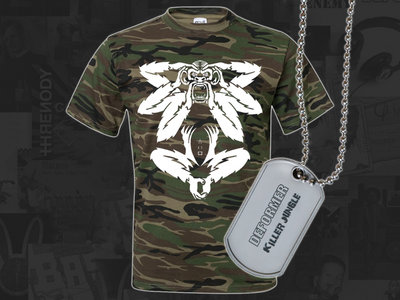 NEW! DEFORMER Limited edition logo camo tee main photo