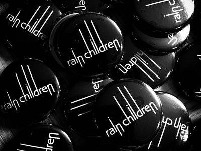 Rain Children Button Badge main photo