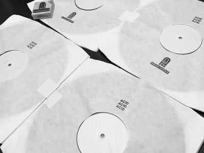 4 LP limited white label pressing main photo