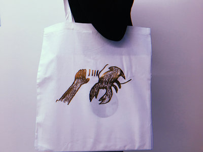 LTD Lobster Tote Bag - Bronze / White main photo