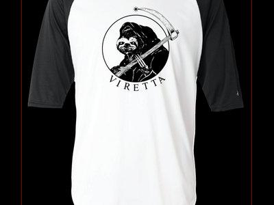 Reaper Sloth Baseball-T main photo