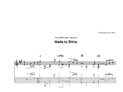 """Made to Shine"" from Bill Frisell - Music IS main photo"