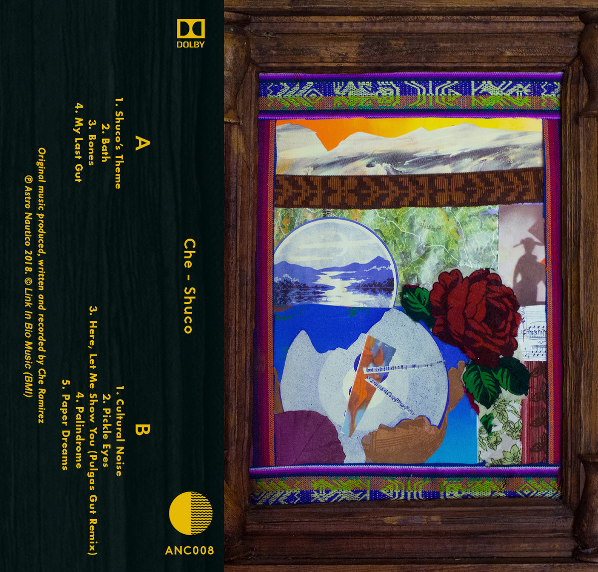 Bath astro nautico high bias cassette tape with full color artwork featuring 3 bonus tracks including a remix by pulgas includes unlimited streaming of shuco via the free malvernweather Images