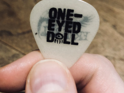 LIMITED: Kimberly's Guitar Pick from the Recording Session (Autographed) main photo