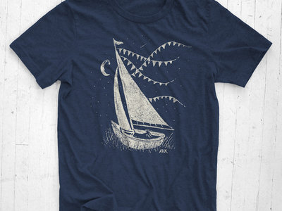 Nautical Prairie T-Shirt - Navy Blue main photo