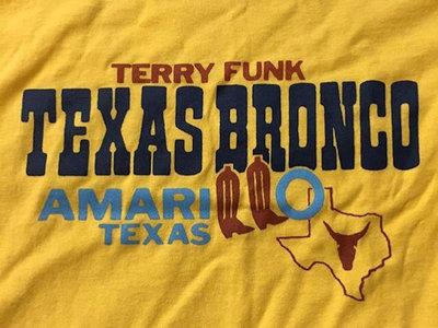 1983 Terry Funk t-shirt reissue // yellow main photo