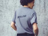 Don't Be Afraid T-Shirt - Charcoal / White photo