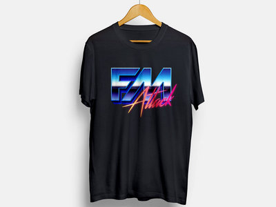 Black Logo T-shirt + Button Pin main photo