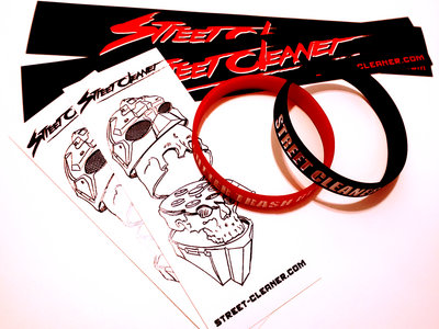 Street Cleaner Stickers and Wristbands main photo