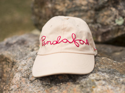 Ivory Hand-Embroidered Hat main photo