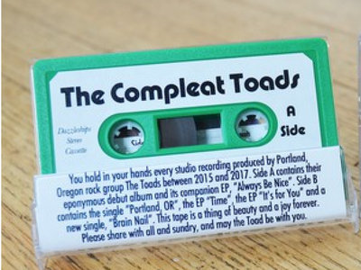 THE COMPLEAT TOADS (Cassette) main photo