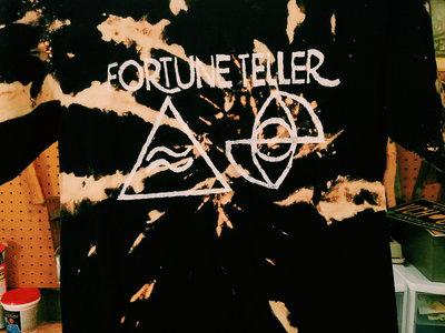 Fortune Teller Bleach Dyed T Shirt main photo