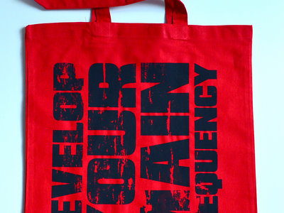 "Tote Bag ""Develop Your Main Frequency"" main photo"
