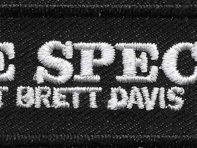 The Special Without Brett Davis embroidered iron-on patch main photo