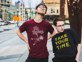 Take Your Time T-Shirt (by Tiffany Eller) [Slate Grey] photo