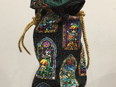 New Stained Glass Link Wine Bag main photo