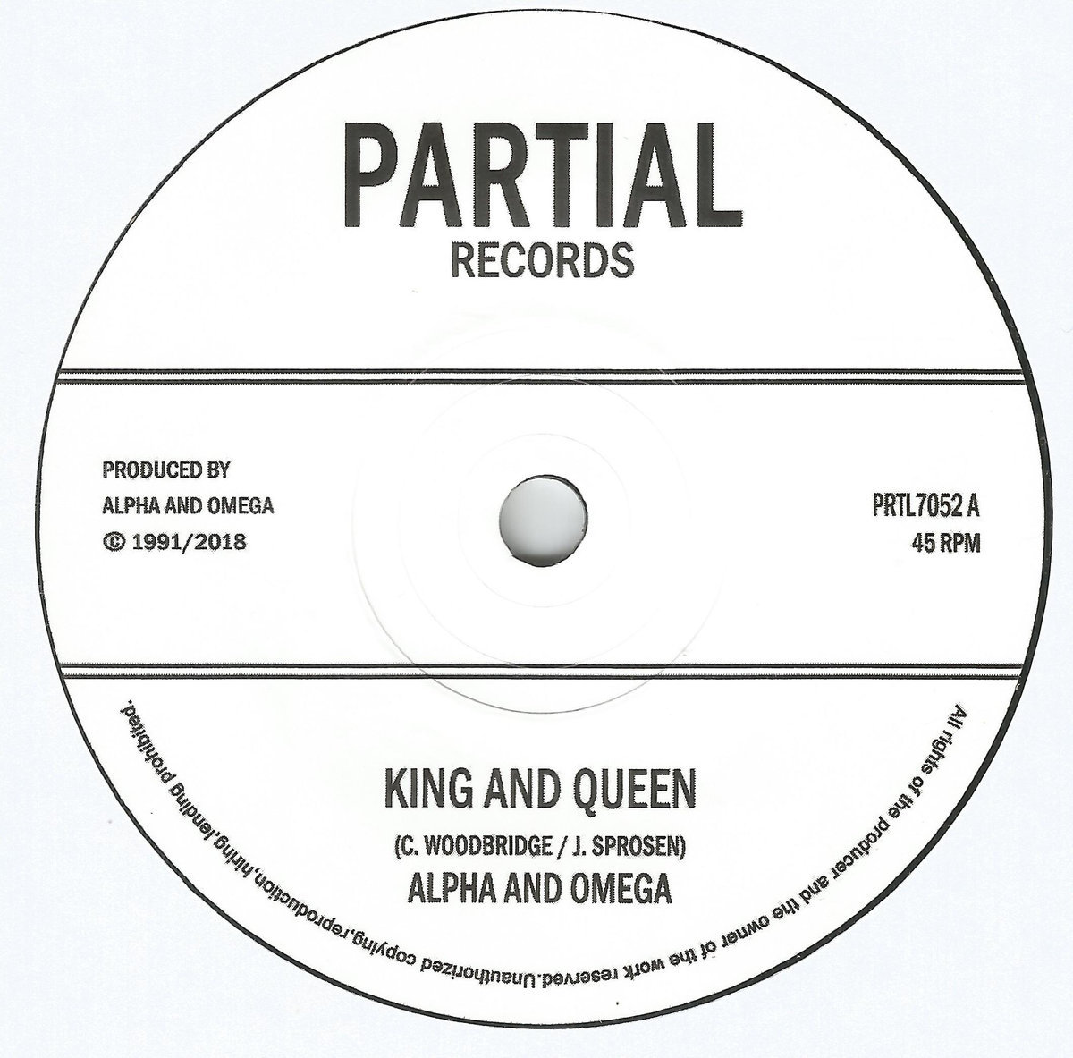 King and Queen   Partial Records