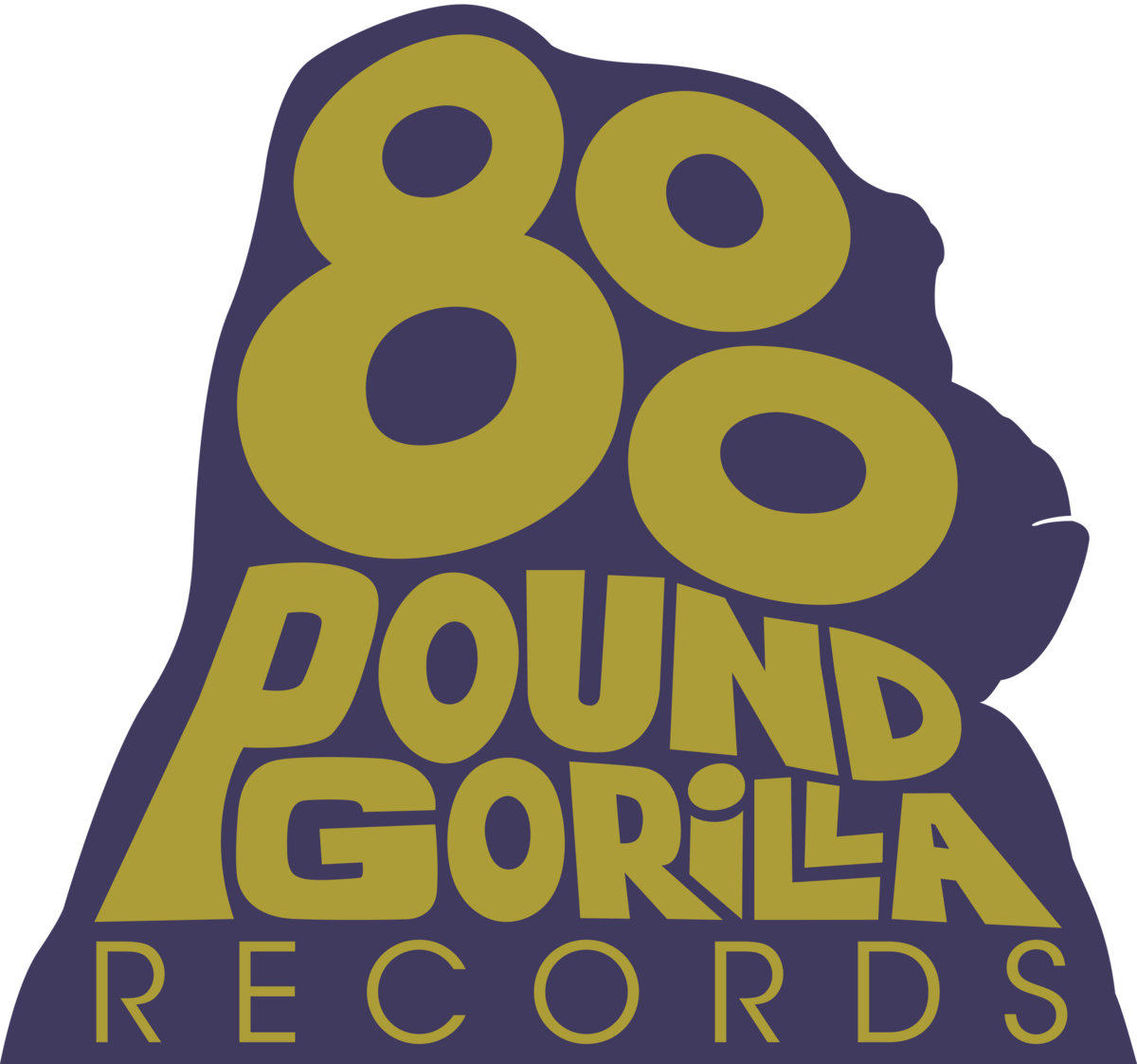 Image result for 800 pound gorilla records