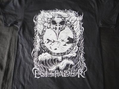 T shirt Eshtadur black&white crow main photo