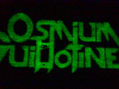 Osmium Guillotine Glow in the Dark Embroidered Patch photo