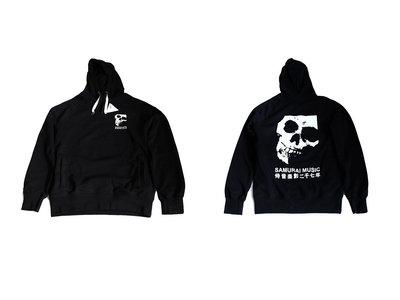 Samurai Music - Double Skull Hooded Sweatshirt main photo
