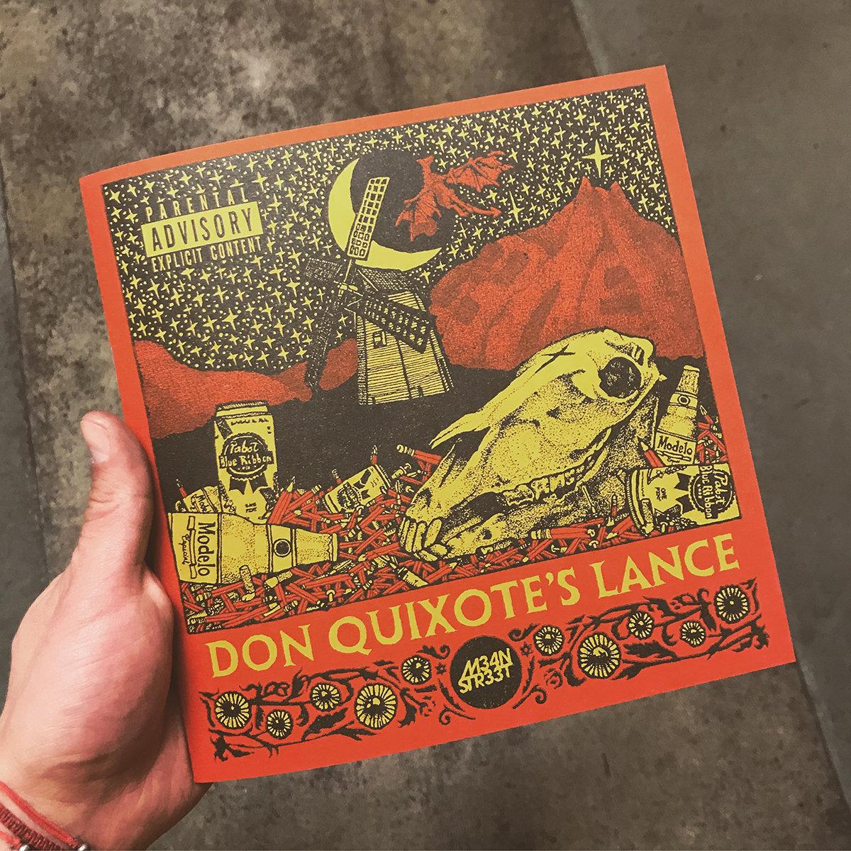 DON QUIXOTE'S LANCE | M34N STR33T